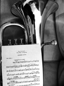 Euphonium and Stravinsky